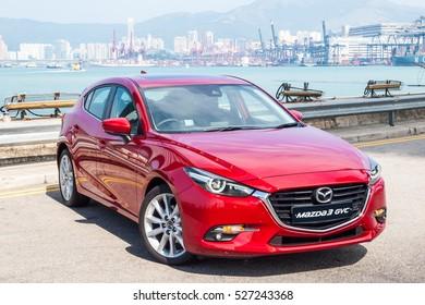 Hong Kong, China Nov 3, 2016 : Mazda3 Drive Day on Nov 3 2016 in Hong Kong.