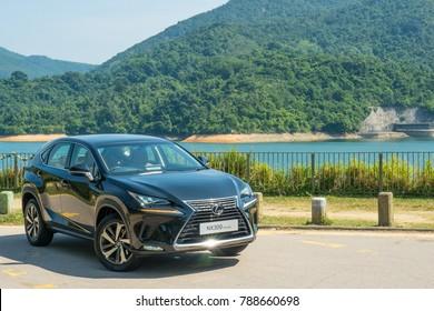 Hong Kong, China Oct 27, 2017 : Lexus NX 300 2017 Test Drive Day Oct 27 2017 in Hong Kong.
