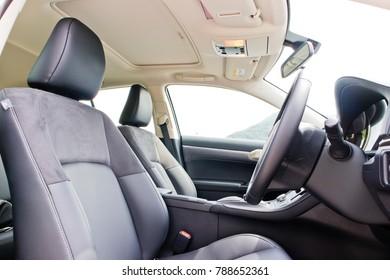Hong Kong, China Sept 20, 2017 : Lexus CT200h 2017 Seat Sept 20 2017 in Hong Kong.