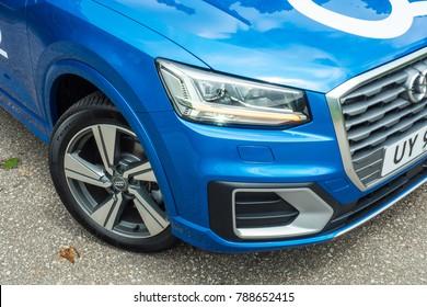Hong Kong, China Sept 22, 2017 : Audi Q2 2017 Test Drive Day Sept 22 2017 in Hong Kong.