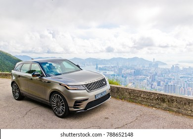 Hong Kong, China Sept 29, 2017 : Range Rover Velar 2017 Test Drive Day Sept 29 2017 in Hong Kong.
