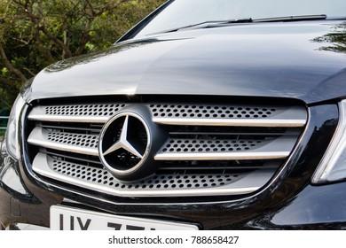 Hong Kong, China Sept 6, 2017 : Mercedes-Benz Vito 2017 Test Drive Day Sept 9 2017 in Hong Kong.
