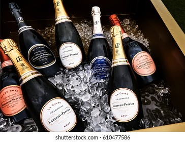 HONG KONG / China/17 March 2017/, Taste of Hong Kong âThe Worlds Greatest Restaurant Festival LAURENT PERRIER Founded in 1812,  is recognised as one of the finest of the champagne houses.