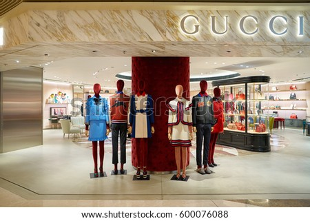 3e1dfe27367 HONG KONG CIRCA NOVEMBER 2016 Gucci Stock Photo (Edit Now) 600076088 ...