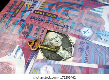 Hong Kong dollar's peg to US dollar