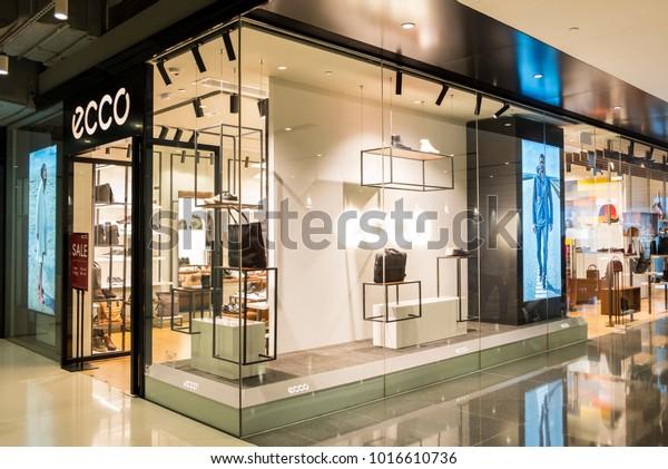 Hong Kong February 4 2018 Ecco Stock
