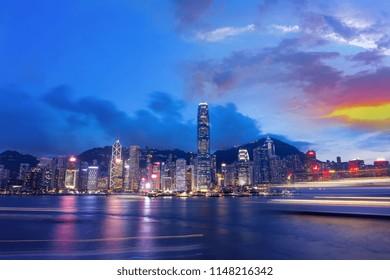 Hong Kong Harbor View