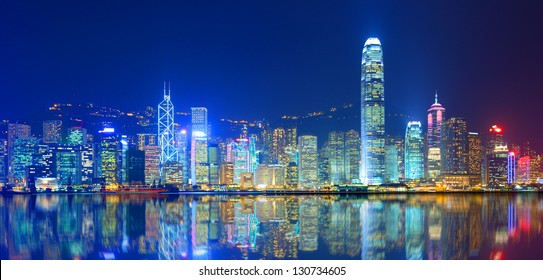 Hong Kong Island from Kowloon.