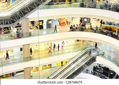 HONG KONG - JANUARY 15: Times Square is a major shopping center and office tower complex on January 15, 2013 in  Hong Kong. Consists of 83,700 m�² of retail space, and  102,300 m�² of accommodation.
