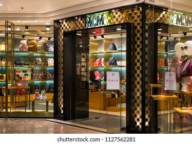 HONG KONG - July 4, 2018: Stuart Weitzman store in Hong Kong.