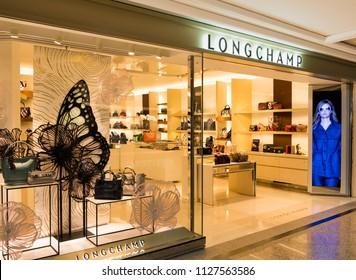 HONG KONG - July 4, 2018: Longchamp store in Hong Kong.