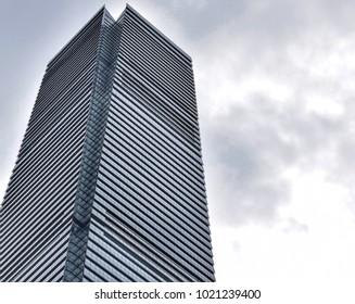 Hong Kong- June 2017: ICC (International Commerce Centre)/ Ritz Carlton Hong Kong.