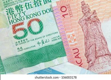 Hong Kong, Macau dollar bank notes