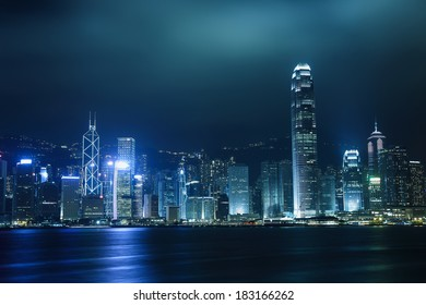 HONG KONG - MARCH 22: Scene of the Victoria Harbour on March 22, 2014 in Hong Kong.  Victoria Harbour is the famous attraction place for tourist to visit.