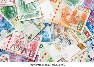 Hong Kong money.