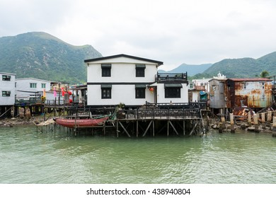 HONG KONG - OCTOBER 03, 2015: Tai O Fishing Village.