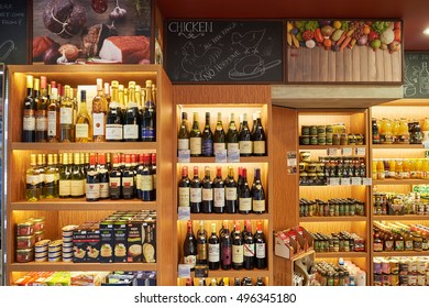 HONG KONG - OCTOBER 25, 2015: Delice grocery store. Delice is a grocery store, located in Kennedy Town.