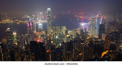 Hong Kong Panoramic Cityscape, Hong Kong