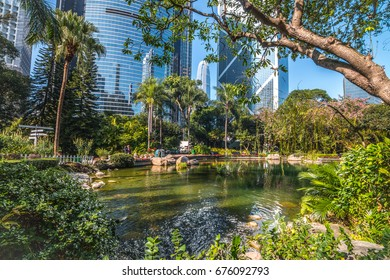 Hong Kong Park and Modern Architecture