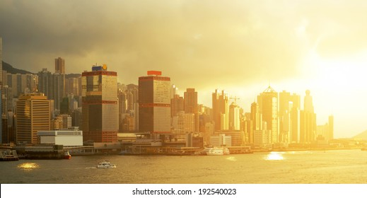 Hong Kong skylines