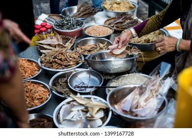 Hong Kong, Tai O fish market