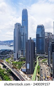 hong kong urban city at day