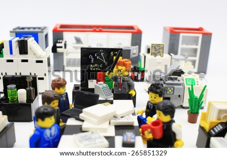 Hong Kongmarch 22 Studio Shot Lego Stock Photo Edit Now 265851329