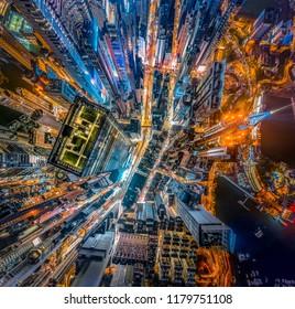 Hong Kong's Dizzying Vertical Density Building