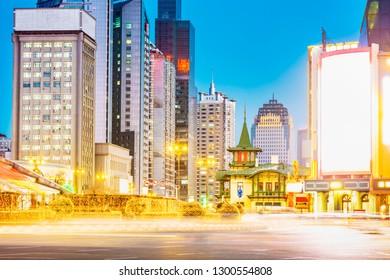 Hongbo Plaza. Located in Harbin, Heilongjiang, China.
