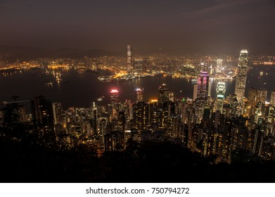 Hongkong Cityscape at Night