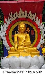HONGKONG - MARCH 8: Tin Tau Temple on March 8, 2015, at Hongkong. Tin Hau is the patron saint of seafarers in Hongkong.