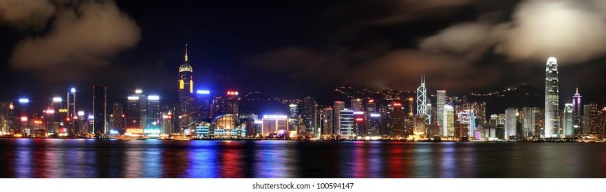 Hongkong Skyline Panorama