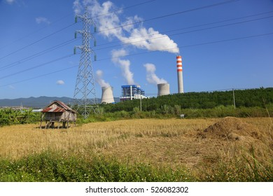 Hongsa Power Company Limited (HPC) in laos. photo were taken on October 23 2016. this is dump power company at Xayabuly province, Lao PDR.
