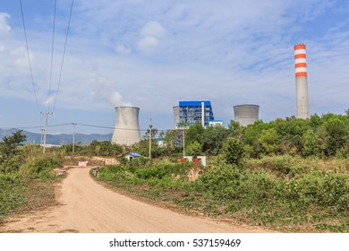 Hongsa Power Company Limited (HPC) in laos. photo were taken on December 5 2016. this is dump power company at Xayabury province, Lao PDR.