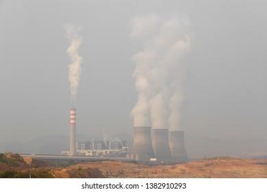 Hongsa power plant (HPC) at Hongsa District in Lao PDR