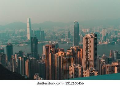 Honk Kong landscape