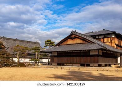 The Honmaru Palace in Nijo-jo Castle in Kyoto. Japan.UNESCO World Heritage Site.