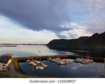 honningsvag, north cape in northern norway