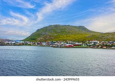 Honningsvag, Norway.