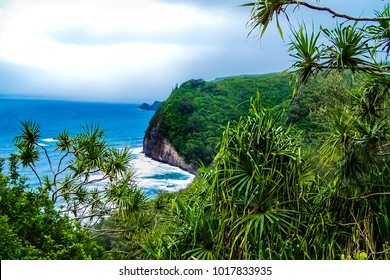 Honokane Nui' Valley and Pololu Valley on the Big Island of Hawaii