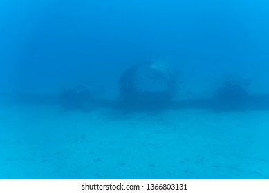 Honolulu, Hawaii - March 30, 2019: Underwater view fro submarine operated by Atlantis Waikiki Submarine Adventure.  The ride takes you to weeks and reefs just off famous Waikiki beach on Oahu, Hawaii.