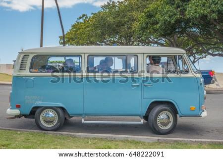 fb93a8d86d Honolulu Hawaii USA May 27 2017 Stock Photo (Edit Now) 648222091 ...