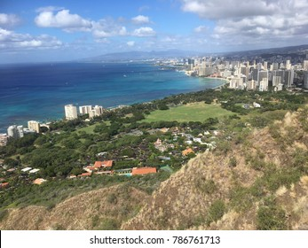 Honolulu from Up on Diamondhead