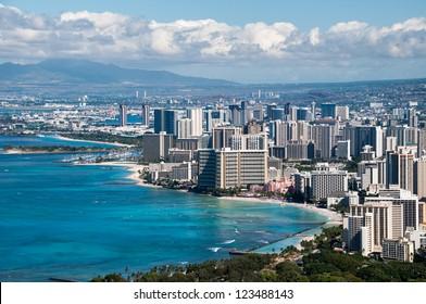 Honolulu Skyline, Oahu