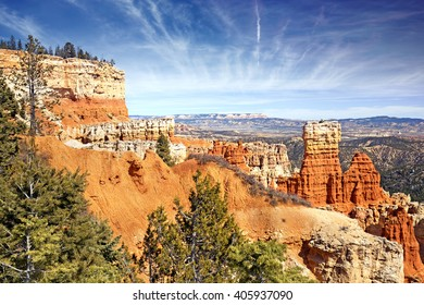 hoodoo rock formations in Bryce Canyon, Utah