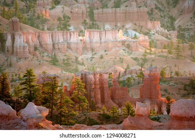 Hoodoos in the Bryce, Bryce Canyon National Park, Utah, USA.