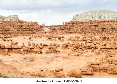 Hoodoos in Goblin Valley State Park, Utah