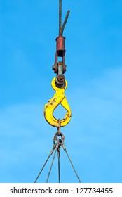 hook of construction crane