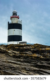 Hook Head Lighthouse near Waterford in Ireland