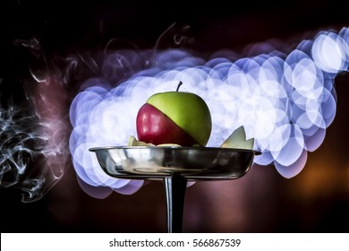 Hookah with double apple